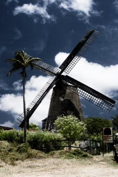 Caribean Windmill by p0p0c4t3p3t3l