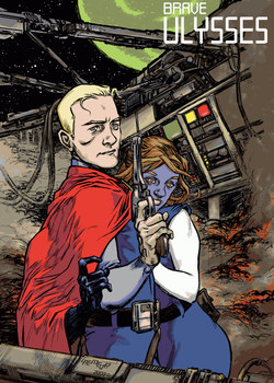 Brave Ulysses at Zuda Comics by Laemeur