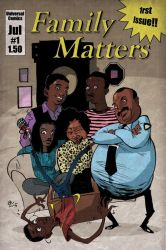 Finished Family Matters by steverinoz