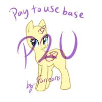 MLP P2U Base [Paint Friendly] by Furreon
