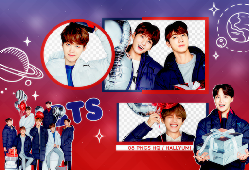 PNG PACK: BTS #30 by Hallyumi