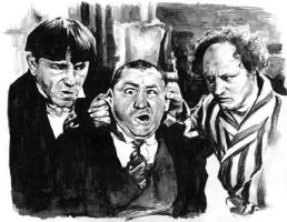 3 Stooges by RobD4E