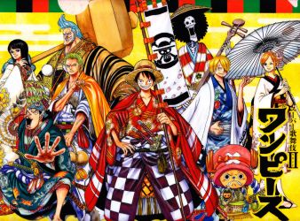 Poster from One Piece Kabuki by Claudia-Cher