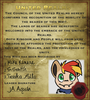 Writ Of Nobility: J.A.Aquila by millemusen