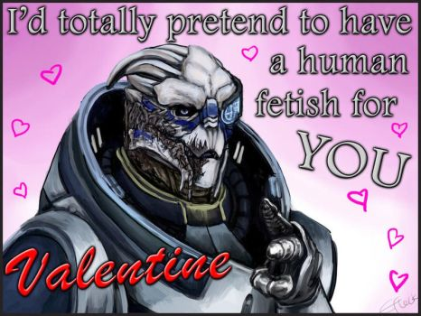 Mass Effect Valentine - Human Fetish by efleck