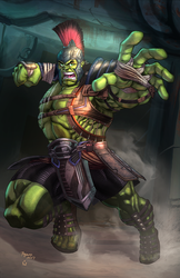 Gladiator Hulk by vest