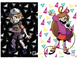 Gravity Falls Prints by Caden13