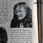 George R. R. Martin from 1975 Gallery Magazine by agentpalmer