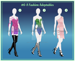 #6-8 Fashion Adoptables [OPEN-CASH] by coras-adoptables