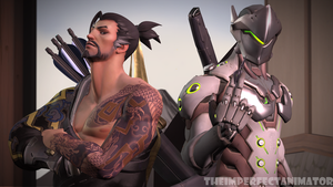 The Shimada Brothers by TheImperfectAnimator