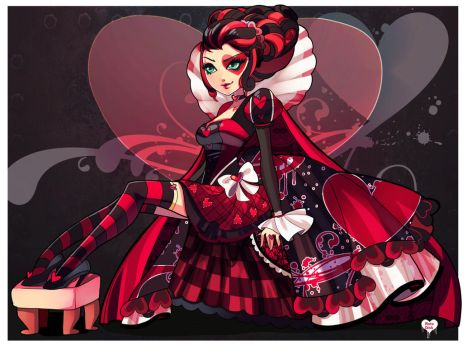 -The Red Queen- by RotoDisk