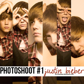 Photoshoot #1 Justin Bieber by oneetime