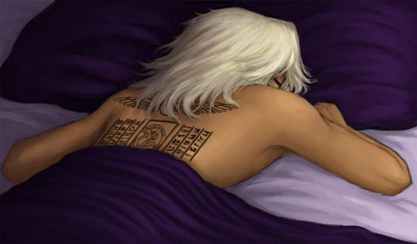 Sleeping by AnaemicMuffin