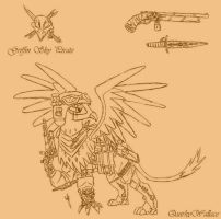 Griffin Sky Pirates: Raiders of the Air -V2- by QuirkyWallace