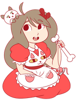 Bee and Puppycat by CandyBattleaxe
