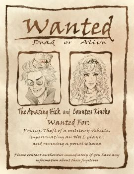 Wanted by EnjoyThePie