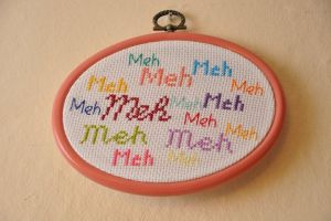 Meh by VickitoriaEmbroidery