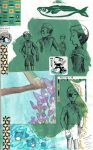 page - green sea, decoration day by sweet-suzume