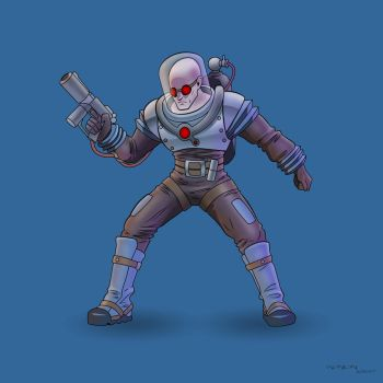 Mr Freeze by arunion