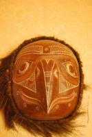 tribal mask stock by Theshelfs