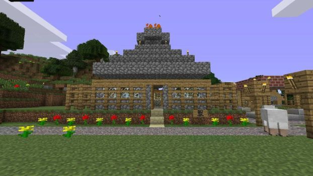 My minecraft home by GWAR666999