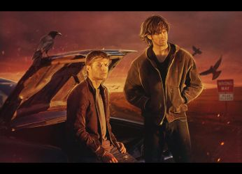 Supernatural: On the Road by AriellaColdheart