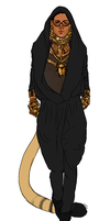 Pharaoh Sass the Egyptian Bling King by TranslucentRainbow