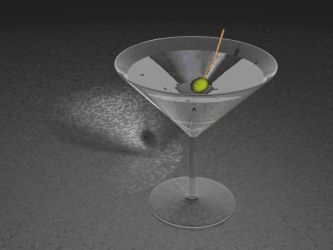 Martini glass v2 by jaak