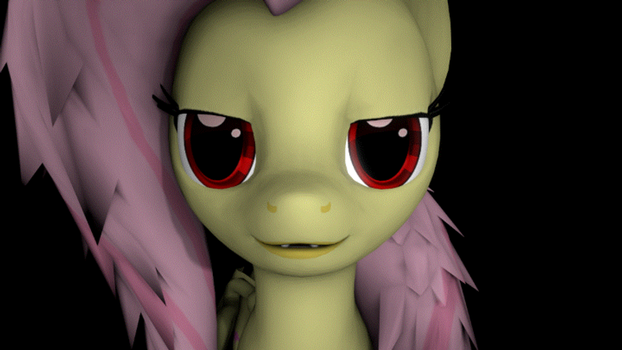 [GIF] Flutterbat, You Hungry? by The4thaggie