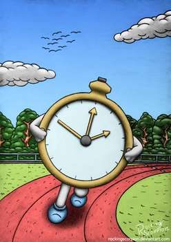 Time's Running by RockingScorpion