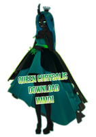 [MMD MLP] QUEEN CHRYSALIS [DL] by Ocuuda