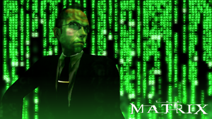 Agent Smith Wallpaper by ShadowGlobe