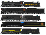 PRR northerns by mrbill6ishere
