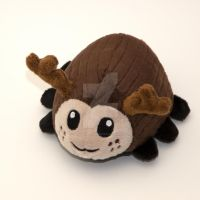 Custom stag beetle plush by SugarcubeCherry