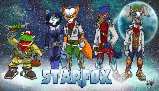 Starfox 20th Anniversary Entry by MikeOrion