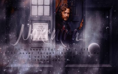 Sirius Black In Tardis by N0xentra