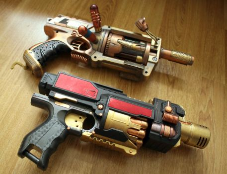 Steampunk Weapons : 1 by HyperXP