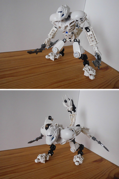 Toa Stormer, The Snow Leopard by Phi8