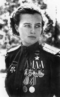 Natalya Meklin WW2 soviet war hero by UniformFan