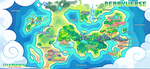 Charminis - World Map by scarletscreations
