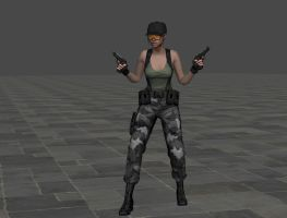 RE Rebirth Jill Special Outfit by ItalianUtent
