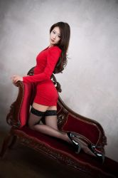 Lady in Red by ParkLeggyKorean