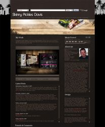 Brown MySpace Layout by scrove