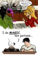 She does Magic by squirrelygirl890