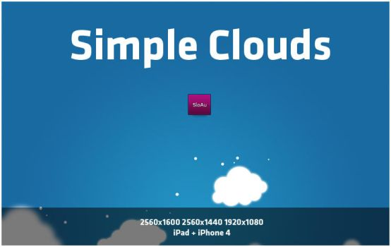 Simple Clouds by SloAu
