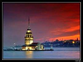 Maiden's Tower by fatihkilic