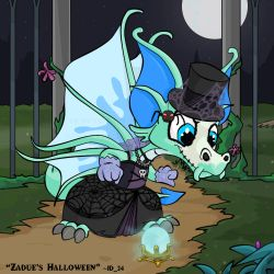 Zadue's Halloween by id-24