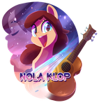 [Light] Gift for a singer Nola Klop by Light262