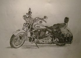 Harley Davidson Classic by FictionFactory77