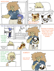 Homeworld Trio: Page 1 by UmbraFoxPaws
